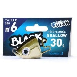 Black Minnow Nº6 Jig heard 1 Udad. Shallow - 30g - Kaki