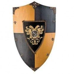 Escudo madera Aguila de Toledo