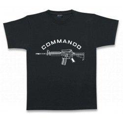 Camiseta M/Corta. COMMANDO.