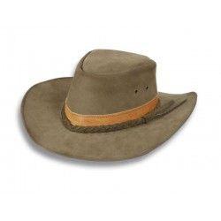 Sombrero de piel .