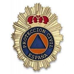 Chapa cartera PROTECCION CIVIL
