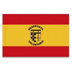 Bandera ESPAÑA RESERVISTA VOLUNTARIO