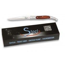 Navaja Steel 440. pakkawood. hoja 5 cm