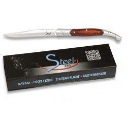 Navaja Steel 440. pakkawood. hoja 6 cm