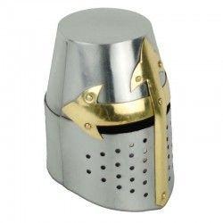 Casco Cruzados S XII c/soporte