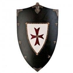 Escudo madera Cruzados
