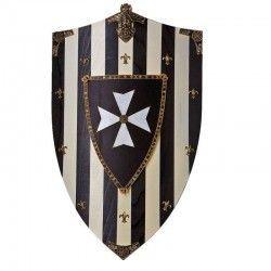 Escudo madera caballeros Hospitalarios