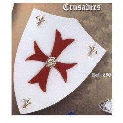 Mini Escudo madera Cruzados