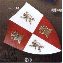 Mini Escudo madera El Cid