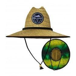 Sombrero Straw sun hat Dorado Green