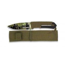 cuchillo Albainox 3D Soldier. hoja: 9.8