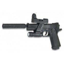 pistola airsoft Galaxy G.053a negra