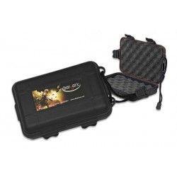 Caja ABS Negra (12x8x4)