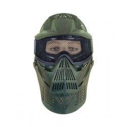Mascara ALBAINOX PVC.Verde.Ornamental