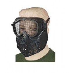 Mascara ALBAINOX PVC.Negra.Ornamental