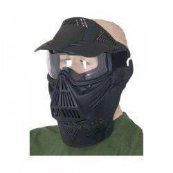 Mascara PVC.Negra. uso ornamental