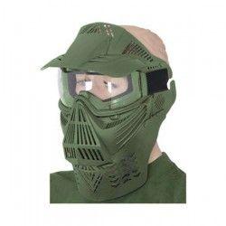 Mascara PVC.Verde. uso ornamental
