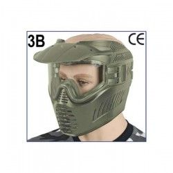 Mascara paintball GXG. Color: Verde
