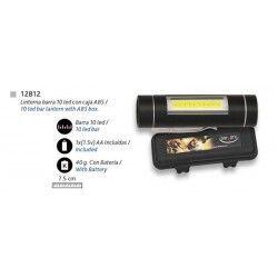 Linterna barra 10 led con caja