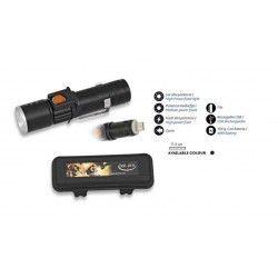 Linterna Recargable USB y caja