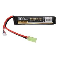 BATERIA DRAGONPRO DP-L7-020 7.4V 1100MAH 20C LIPO 103X21X13MM