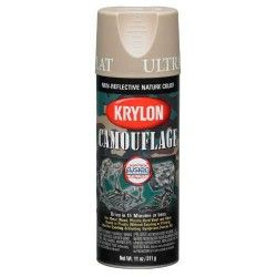 KRYLON CAMUFLATE PAINT WITH FUSION TECHNOLOGY (SAND)