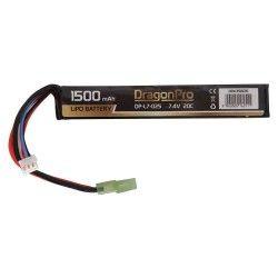BATERIA DRAGONPRO DP-L7-025 7.4V 1500MAH 20C LIPO 128X21X12.5MM