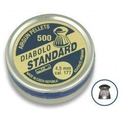 Balines DIABOLO STANDARD 4.5 (500 piezas