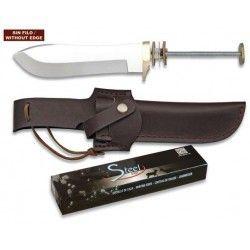Cuchillo. Total 25.4 cm. C/Funda
