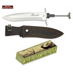 Cuchillo. Total 37 cm. C/Funda