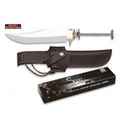 Cuchillo. Total: 27.9 cm. C/Funda