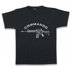 Camiseta M/Corta. COMMANDO