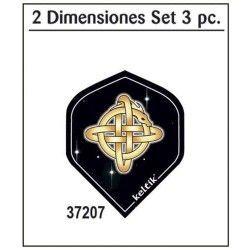 Voladores GOLD Set 3 piezas