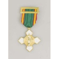 Medalla Merito Policial Dtivo Blanco