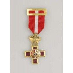 Medalla Merito Militar Distintivo Rojo