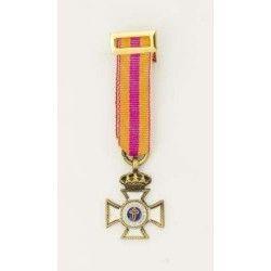 Medalla Miniatura CONSTANCIA 15 AÃ'OS