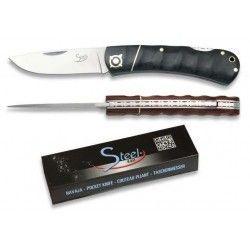 Navaja Steel 440. mikarta custom. h:7cm